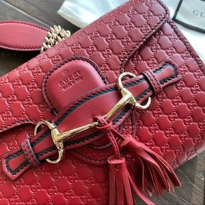 Gucci Guccissima Mini Emily Shoulder bag